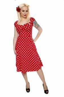 Delores Doll Rot Weiße Punkte | Rot weiss, Ausgestelltes