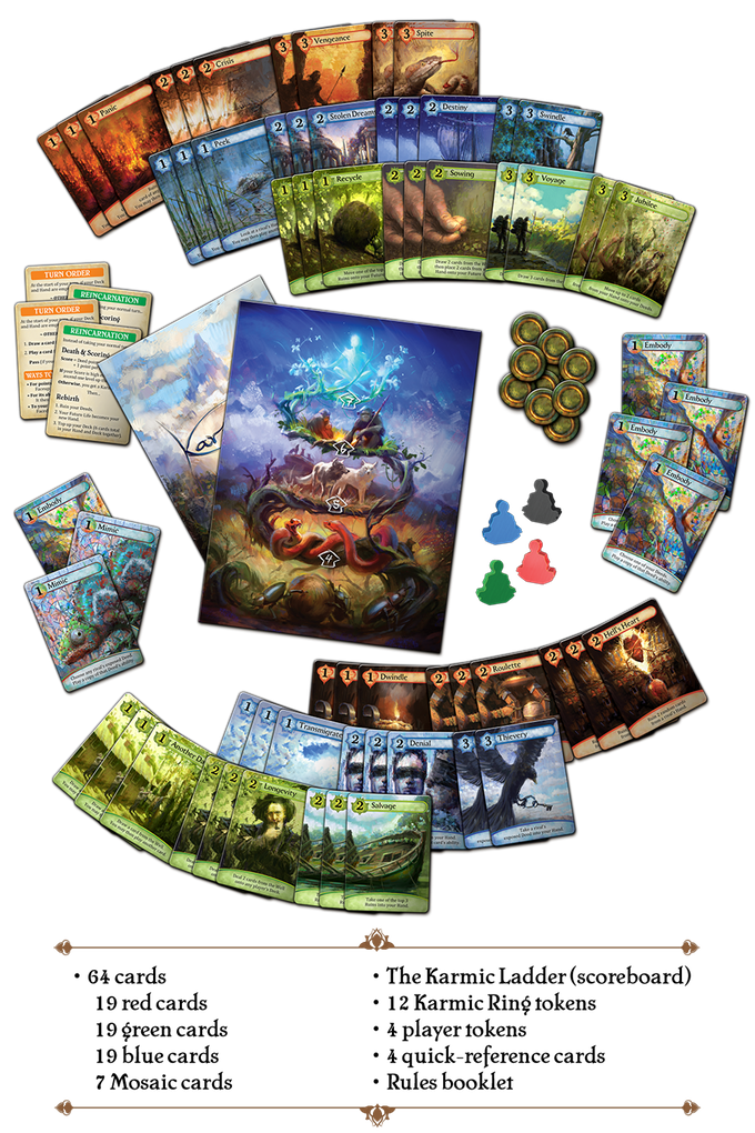 Karmaka – A tactical card game for 2-4 souls by Eddy Boxerman — Kickstarter
