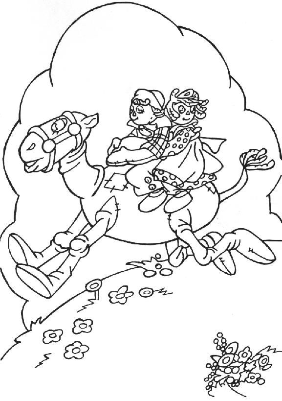 Raggedy Ann Coloring Pages | Miscellaneous Raggedy Ann and Andy ...