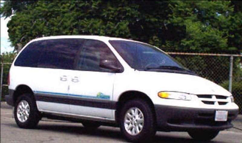 Dodge Caravan Epic Electric Version Of The Dodge Caravan 207