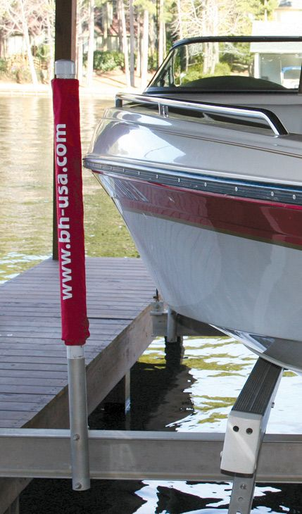 Guide Post Bumpers for Boat Cradles  Can be bought in red, black, or