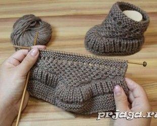 Bebek patiği yapılışları #crochetbabyboots