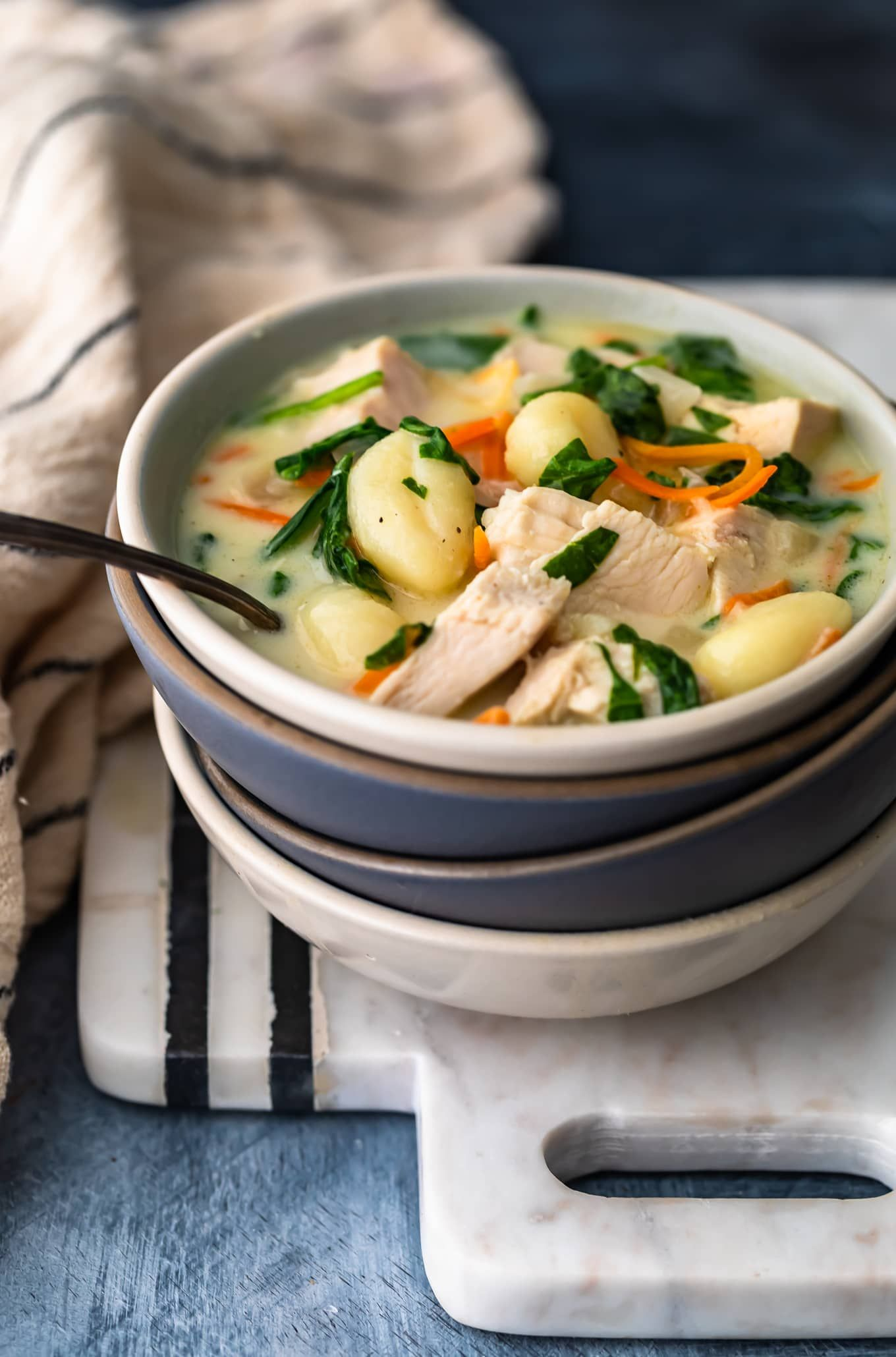 Chicken Gnocchi Soup is one of my favorites because it's