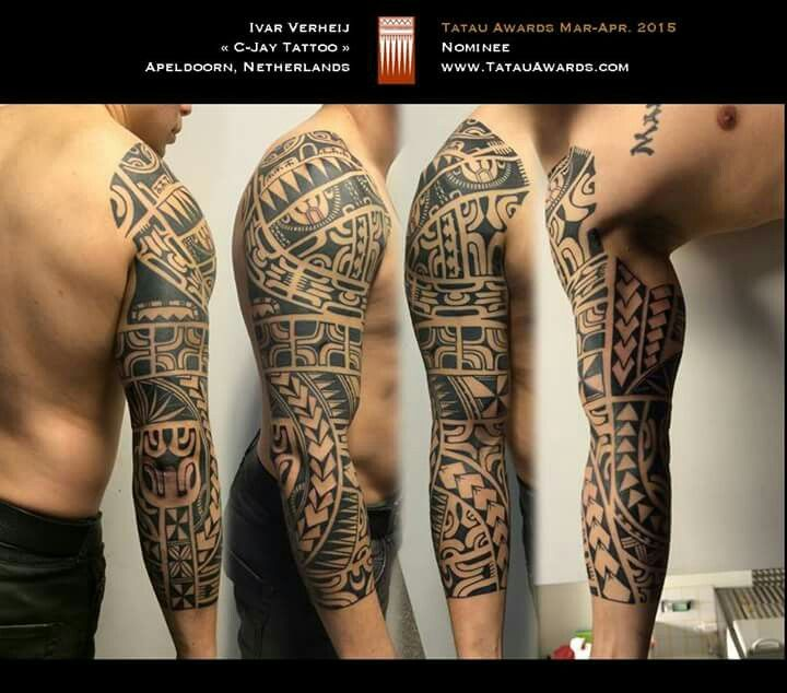 Body Art World Tattoos Maori Tattoo Art And Traditional: Tatau #samoan #tattoo Love The Size Of This Sleeve