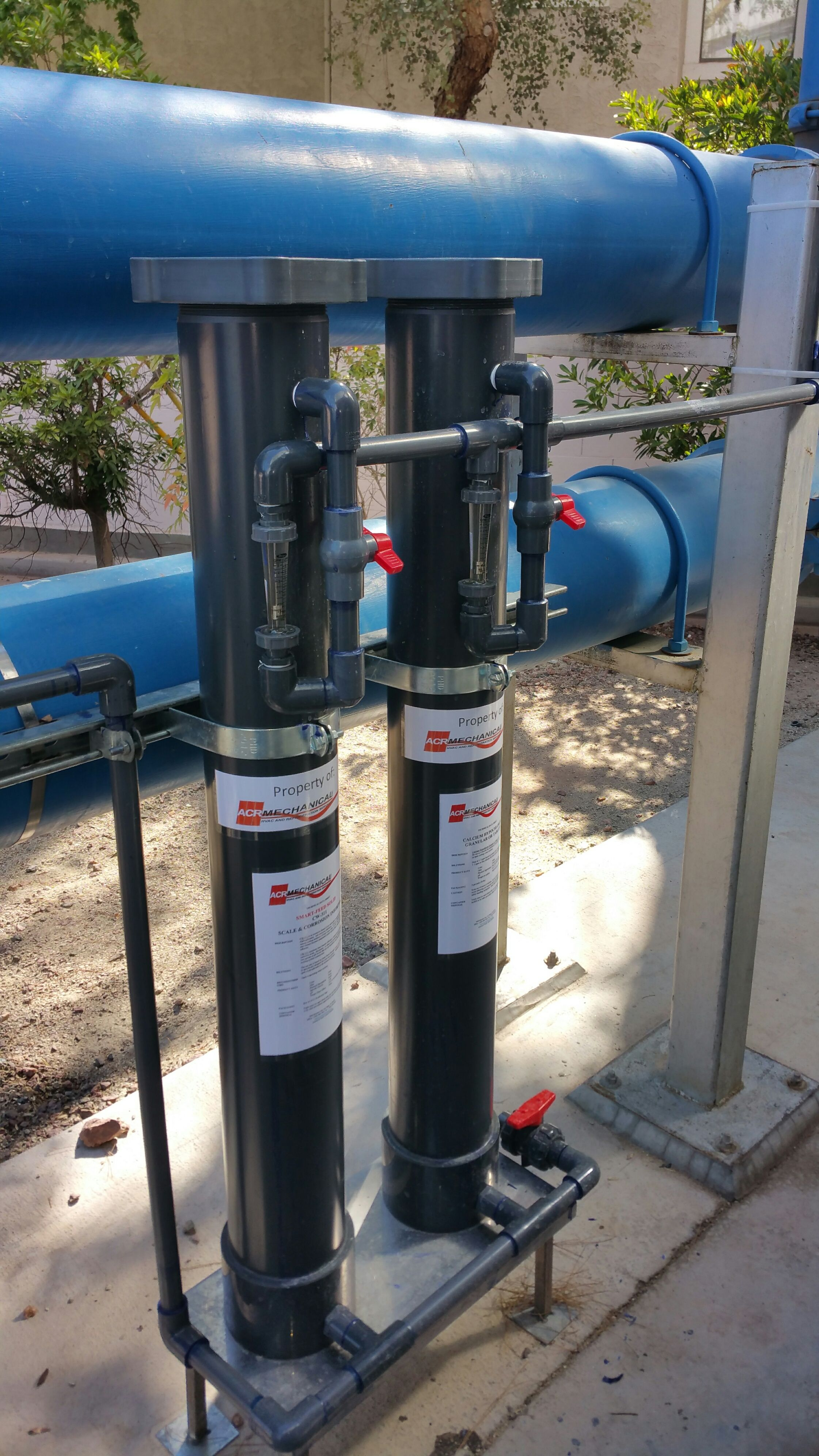 Dry Chemical Smart Feed Stations Water treatment plant