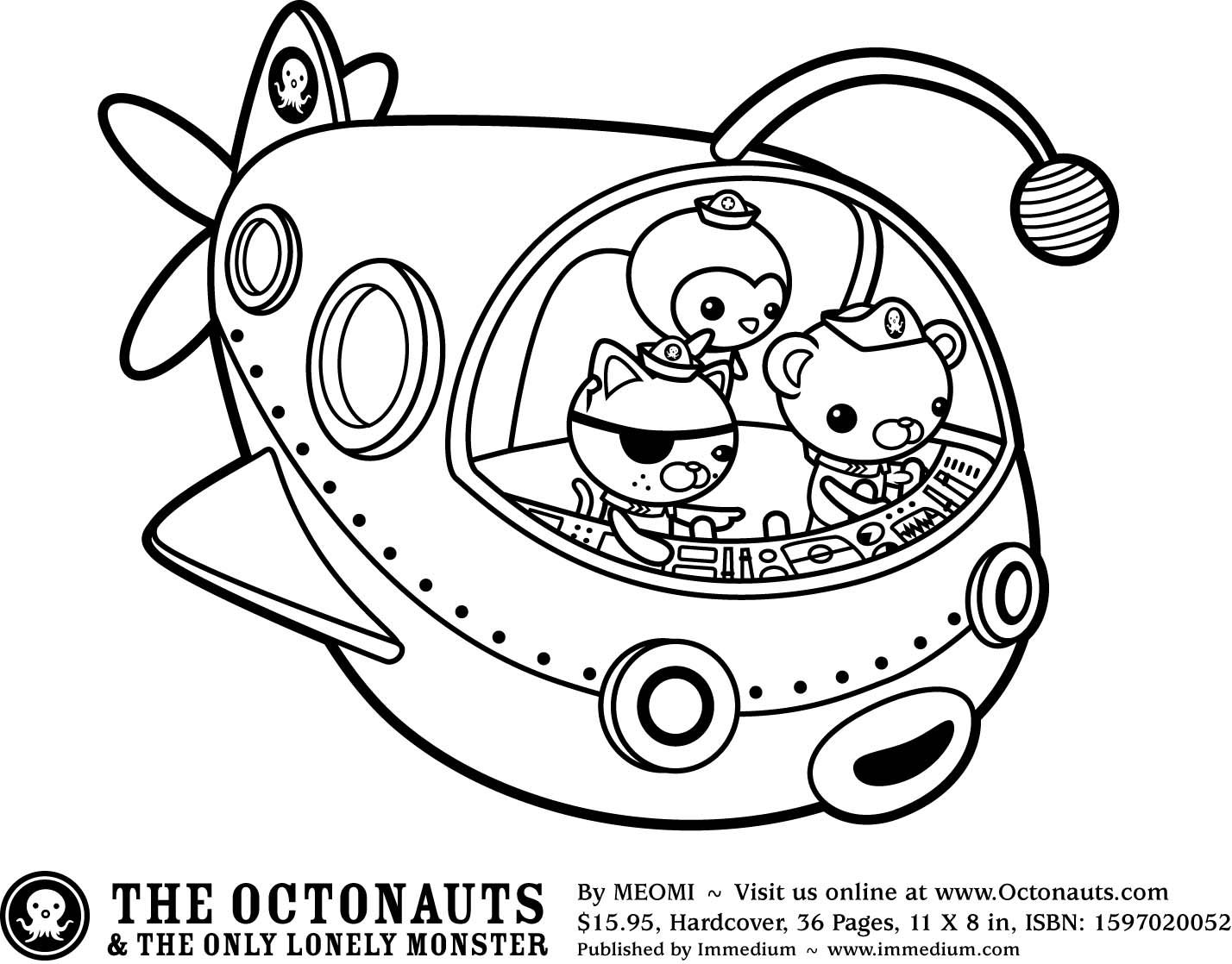 Octonauts colouring pages Party Planning Pinterest