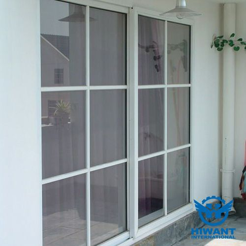 White color powder coating aluminium profile for windows and