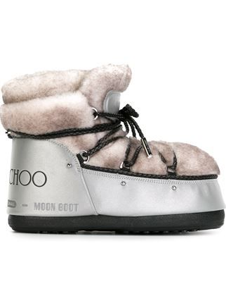 MOON BOOT & JIMMY CHOO Ankle boots cheapest price for sale smntJs