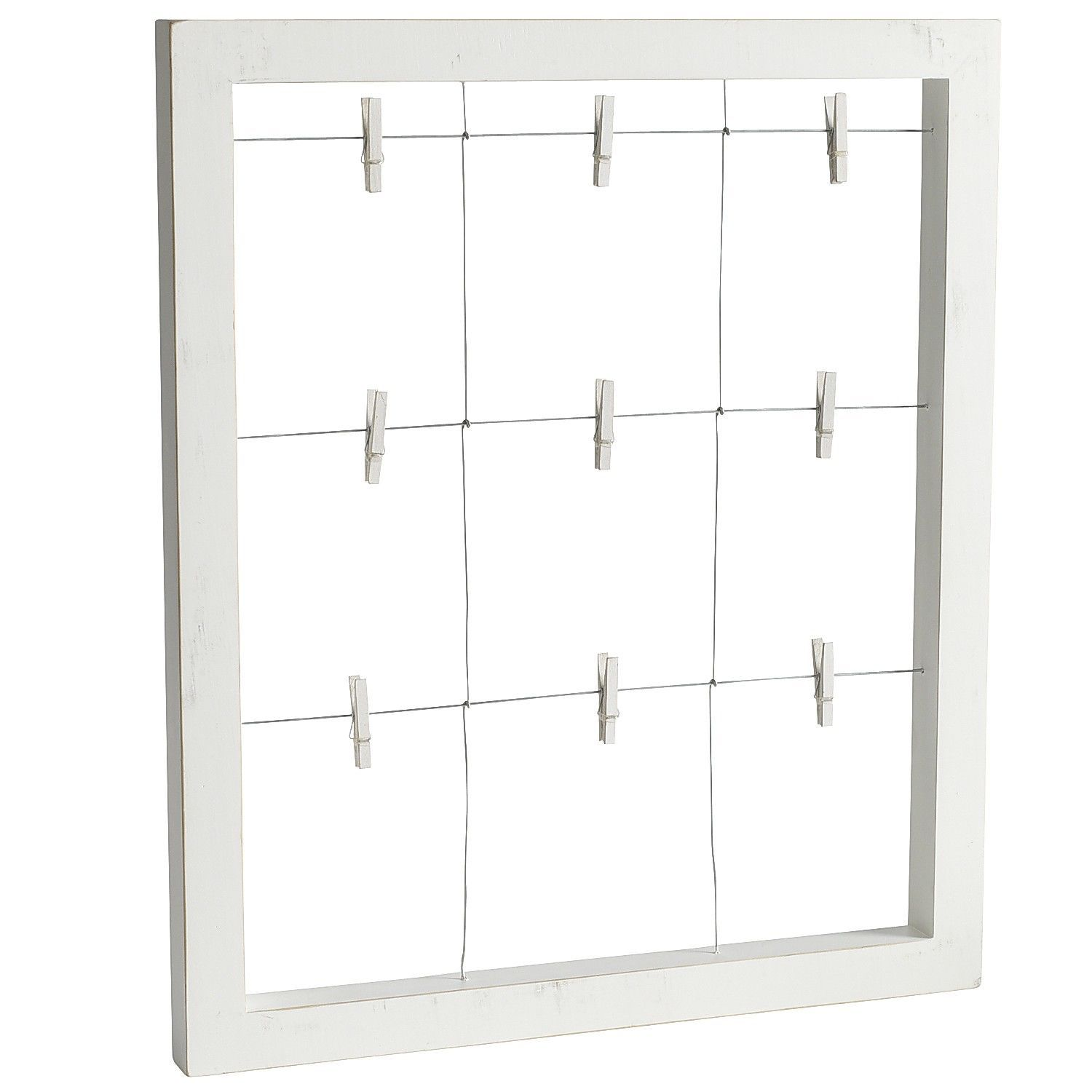 window clip frame white pier 1 imports - Window Clip Frame