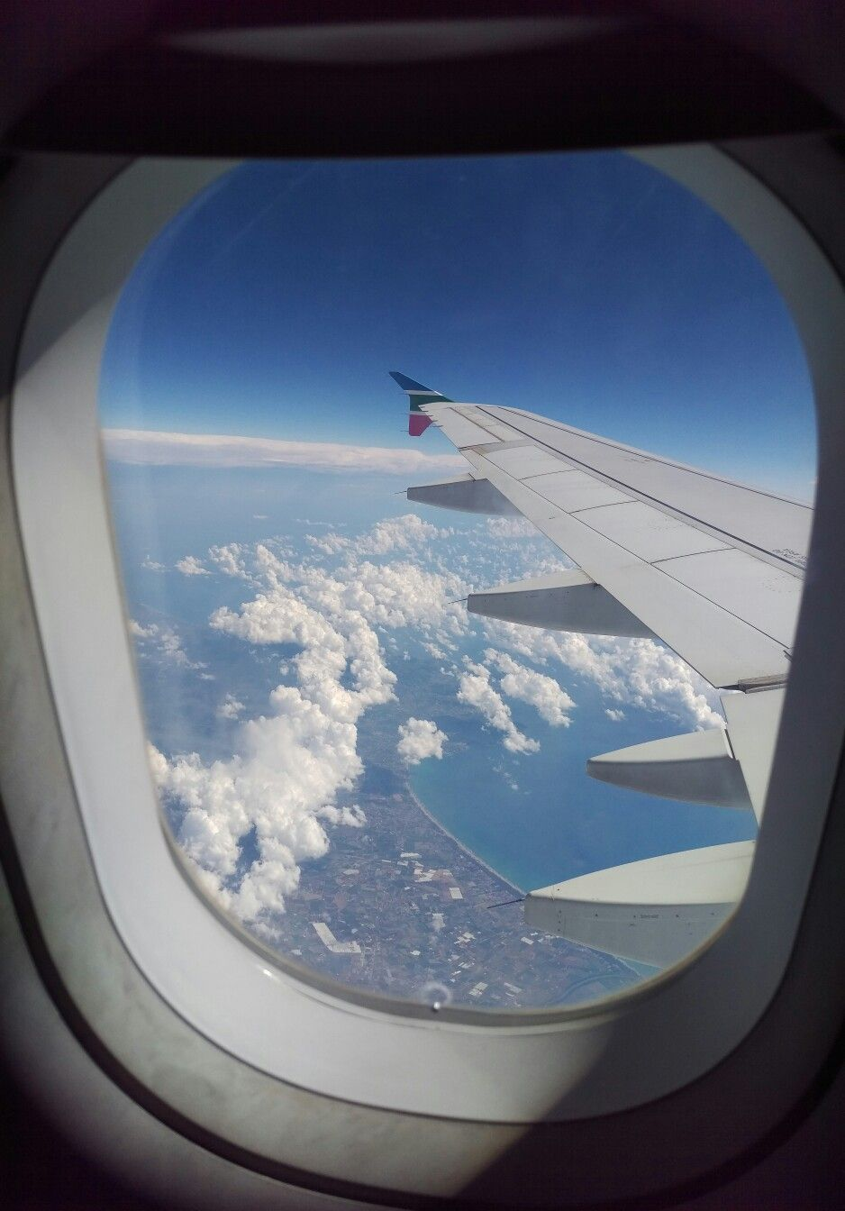 Beauty Of A Window Seat Wingview Airbus Aviation