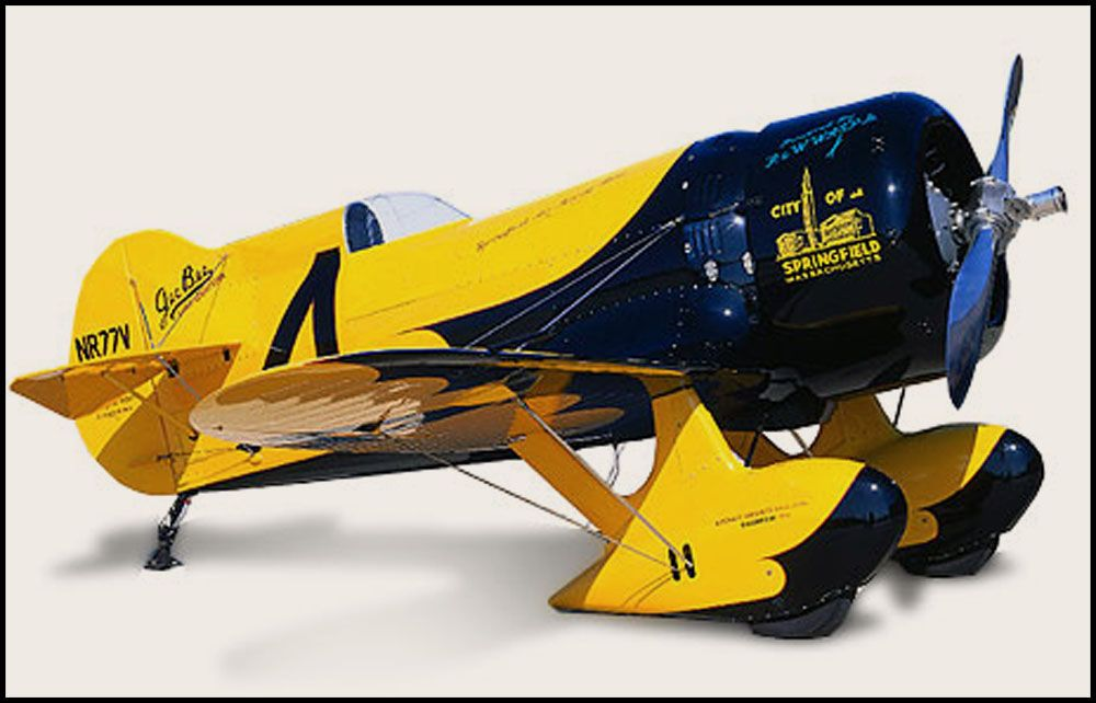 My lord what an airplane  The Gee-Bee -short for Granville Brothers