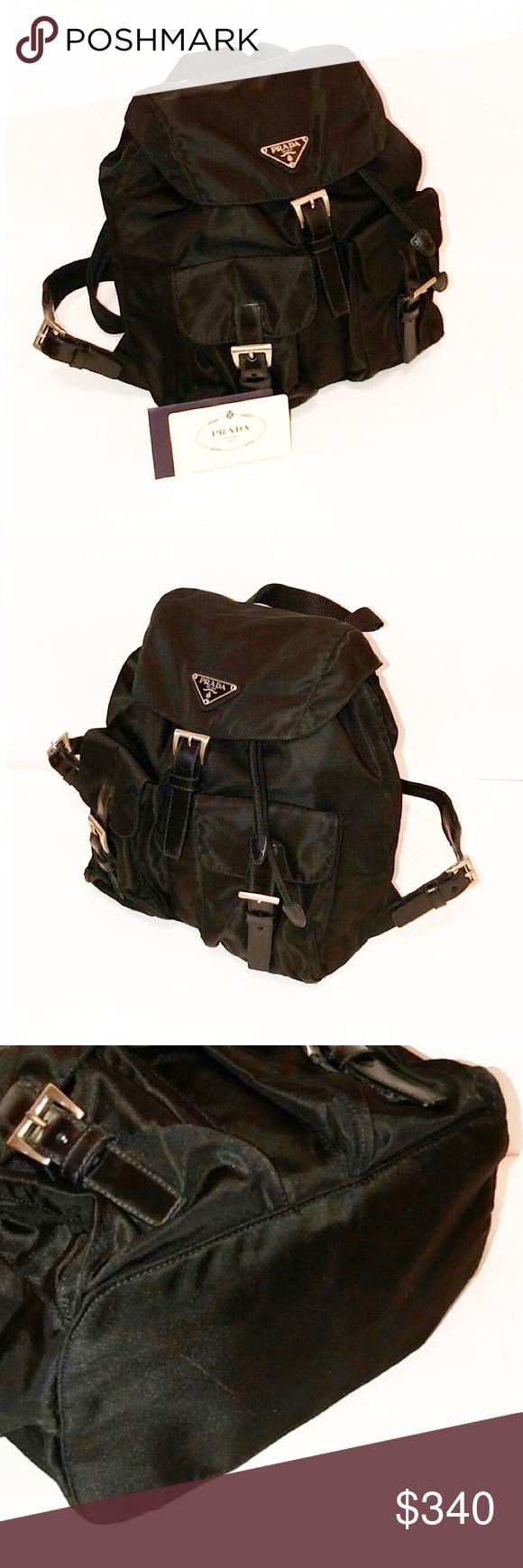 4c6fcc8ad4a9 ... discount authentic prada nero vela mini backpack authentic prada nero vela  mini backpack includes authenticity card