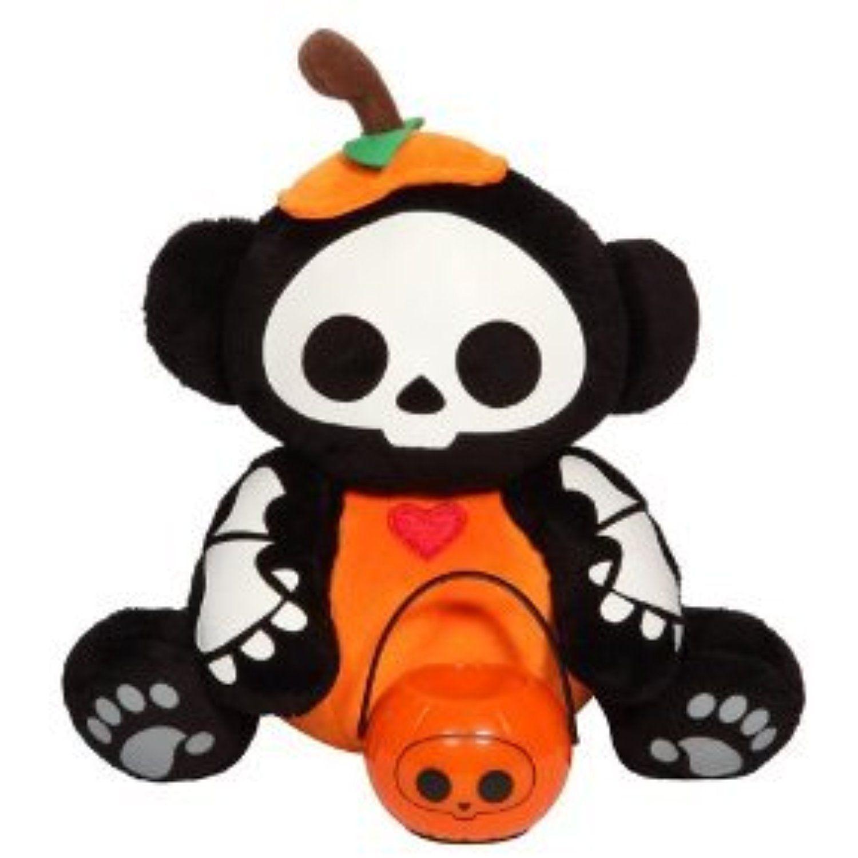 Skelanimals Halloween Plush w/ Lantern Marcy as a