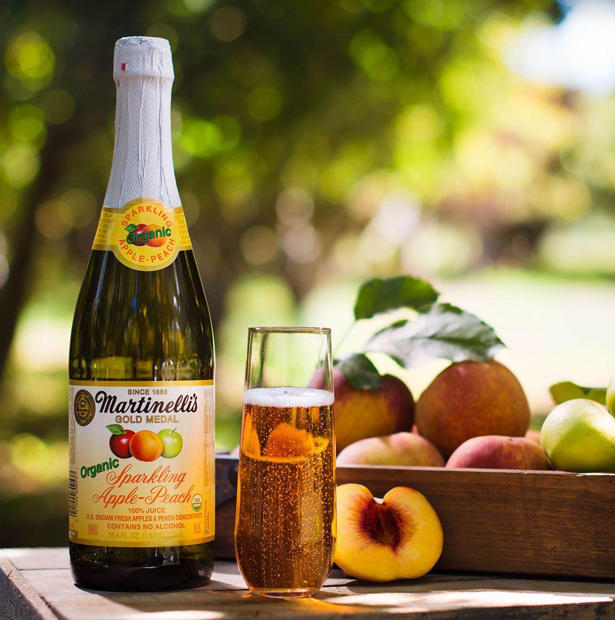 Sparkling ApplePeach Juice Sparkling Juices S
