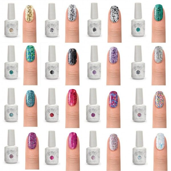 Gel Nail Polish Trends: Gelish Color Swatches - Google Search