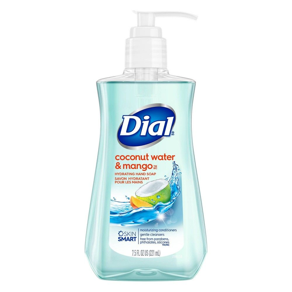 Dial Coconut Water Mango Hand Soap 7 5oz In 2020 Coconut Water