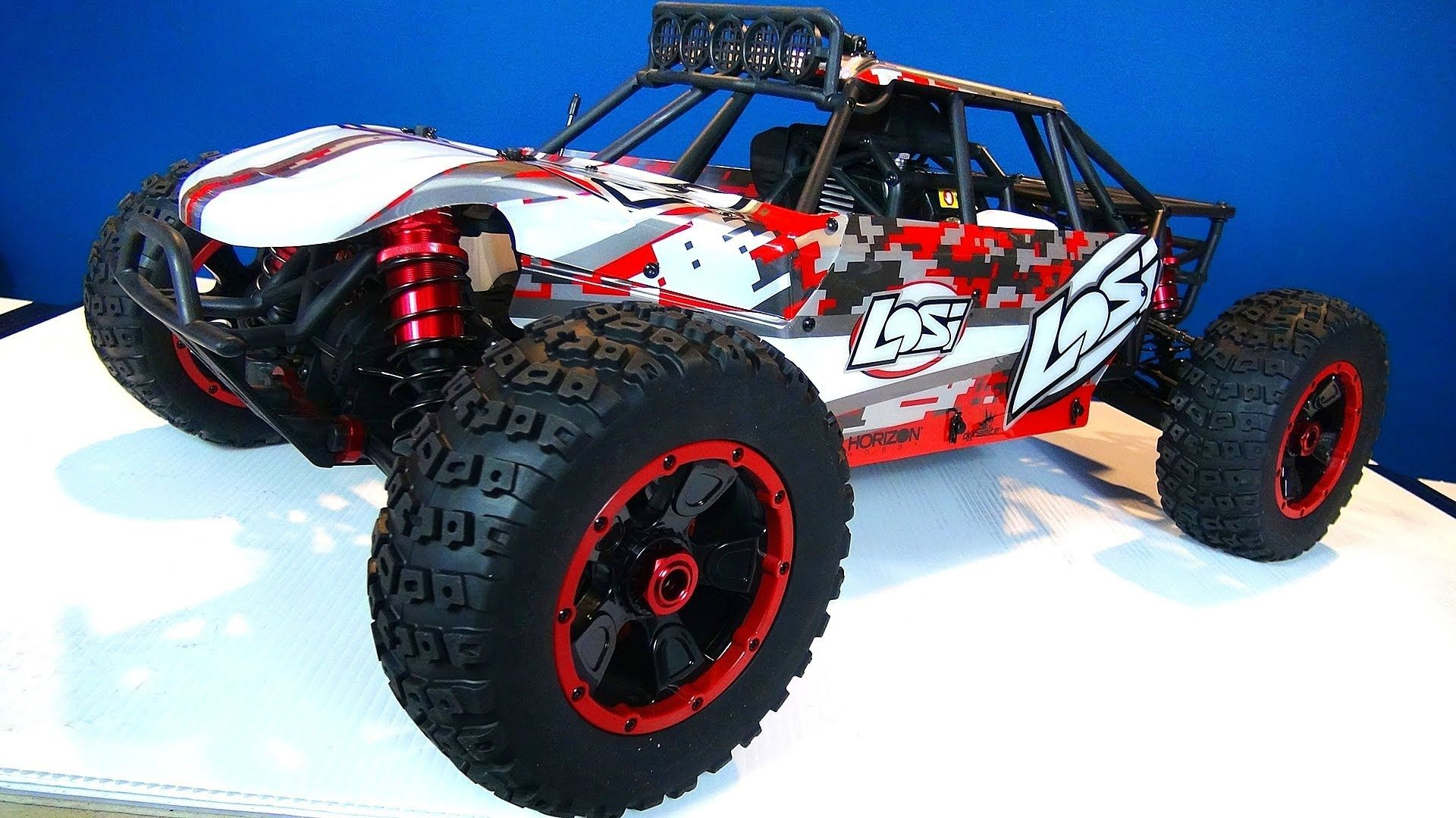 RC ADVENTURES Losi DBXL 4x4 Buggy Unboxing (Gas