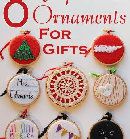 Embroidery hoop ornaments diy Pinterest Crafts, Embroidery