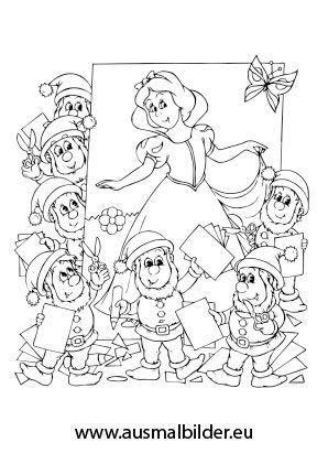 märchen ausmalbilder 08 | ausmalbilder/windowcolor | pinterest | kindergarten
