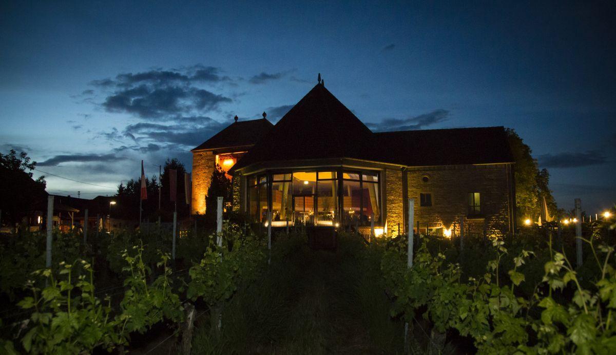 Das Weintor bei der Hochzeit im Deutschen Weintor