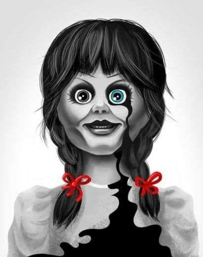 Annabelle Personagens De Filmes Fotografia Rosto Ideias Para