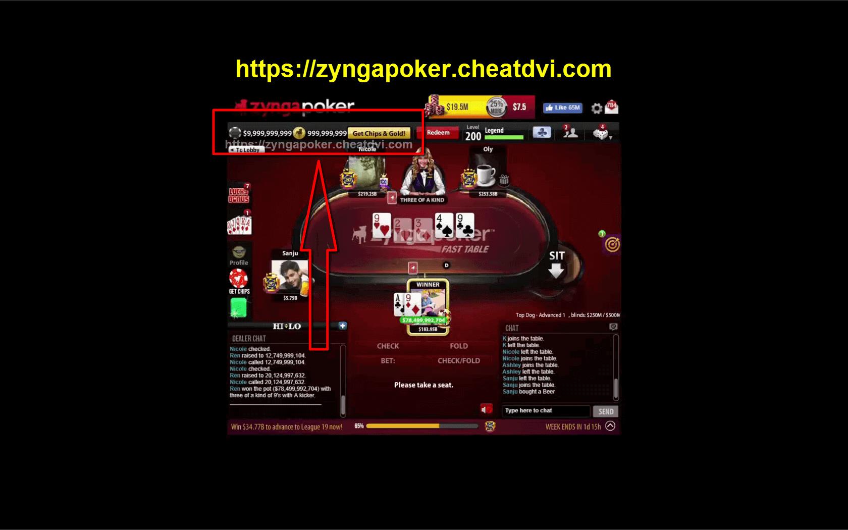 Free Casino Gold Zynga Poker