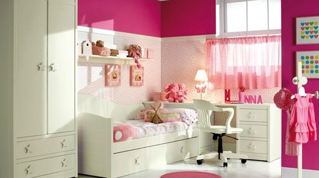 Decoracion kids room pinterest dormitorios for Dormitorios infantiles nina