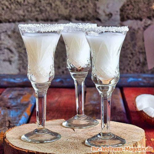 Kokoslikör selber machen - einfaches Rezept
