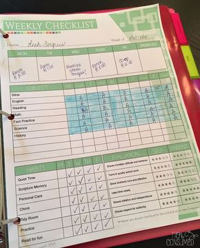 Why I Don't Use a Homeschool Lesson Plan Book