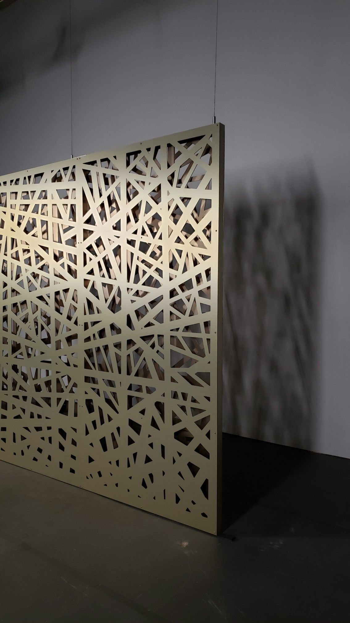 Decorative Screen Partitions Create Privacy And Define Space