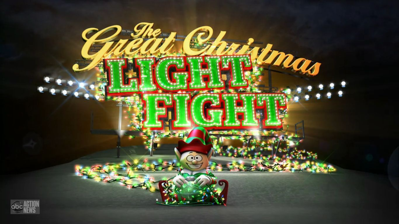 programming insider the great christmas light fight returns on abc