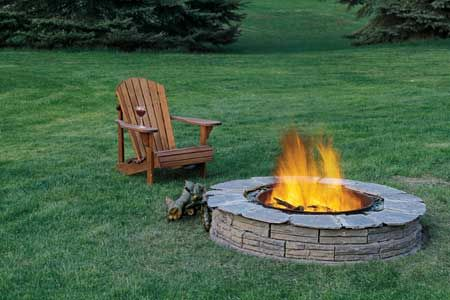 How to build a firepit.