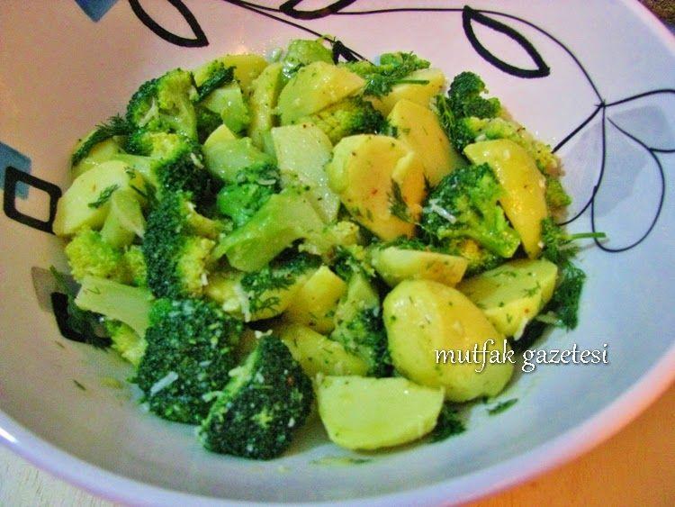 Patates, brokoli salatası