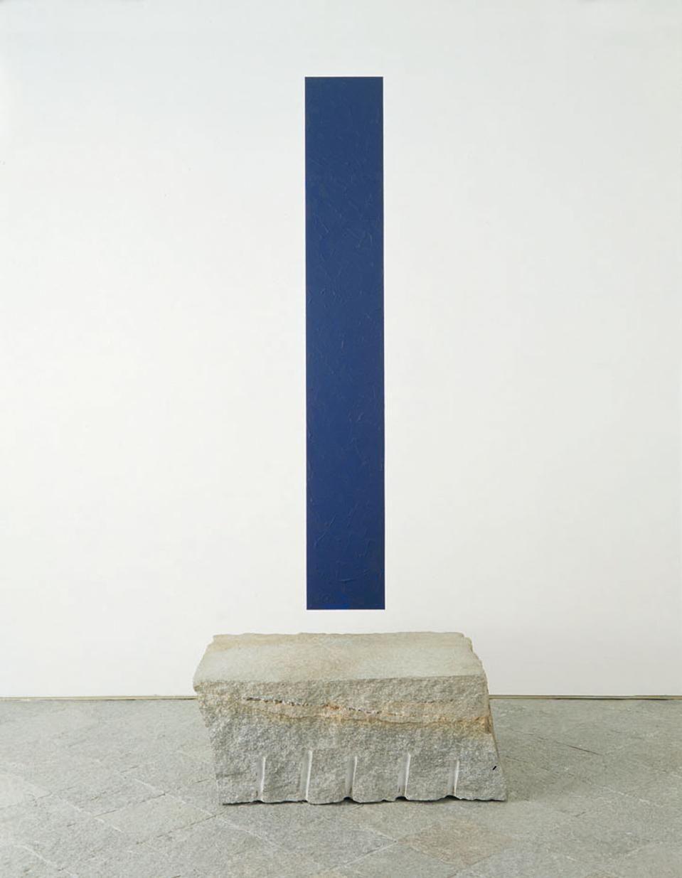 Giovanni Anselmo / #blue