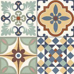 Carreauxdeciment Carrelage Style Ancien Ciment Heritage Mix 33x33