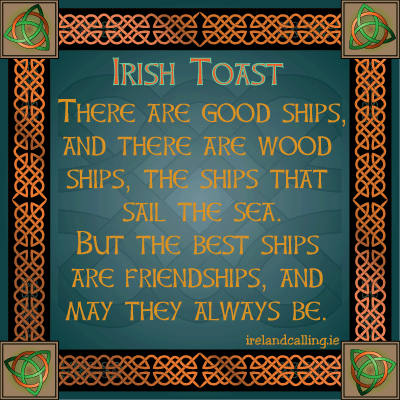 Irish Toast   Friendship
