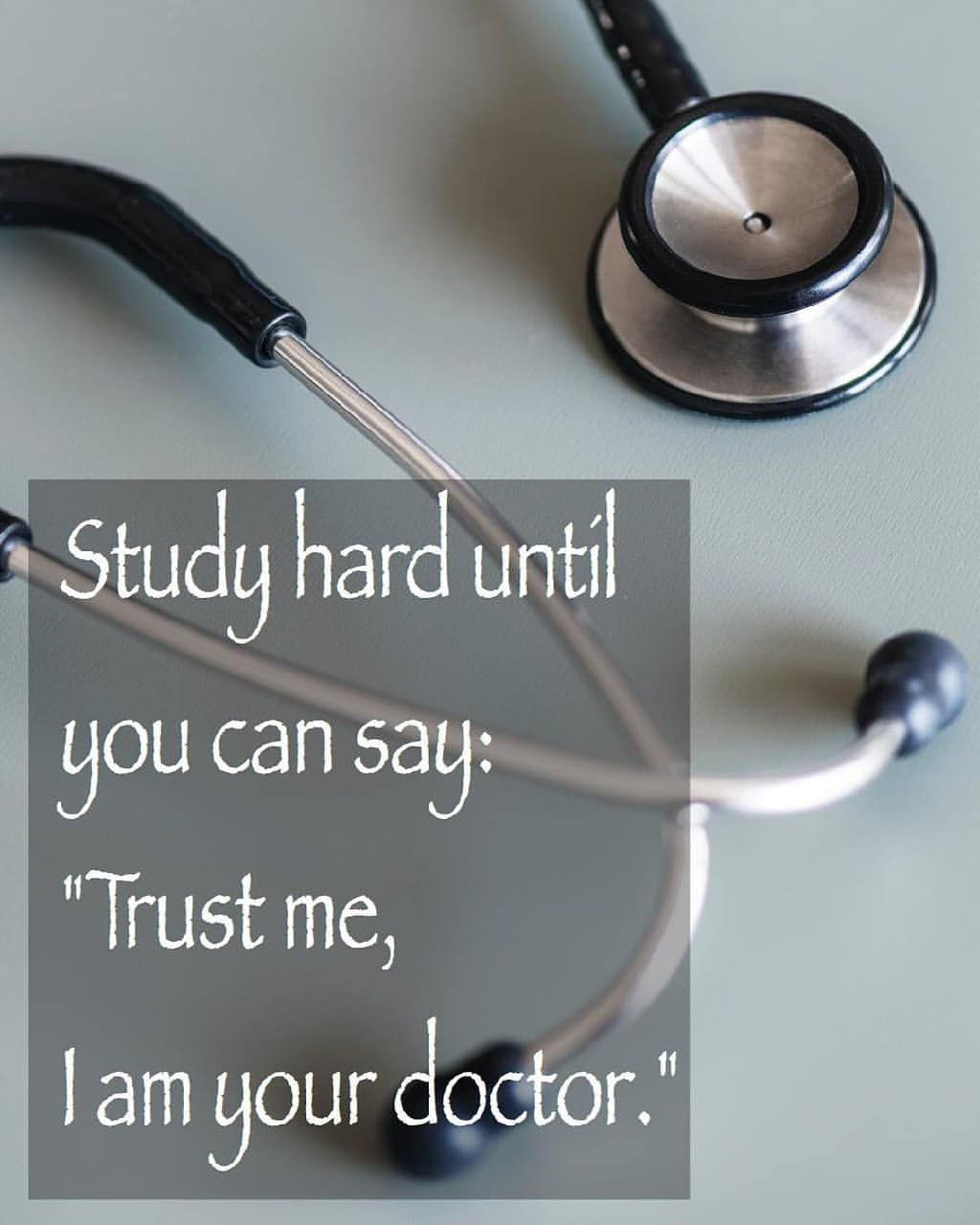 I'm your doctor