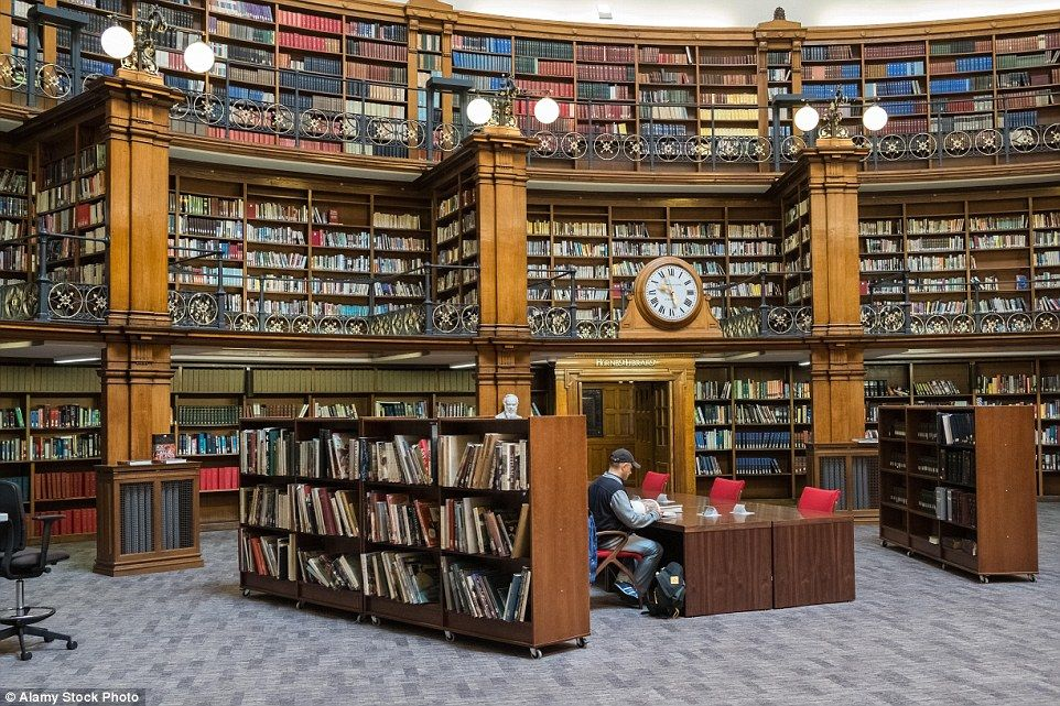 From the old to the new: Liverpool Central Library also includes the delightful Picton Reading Room, which is a grade II listed building that boasts the accolade of being the first electrically lit library in the UK