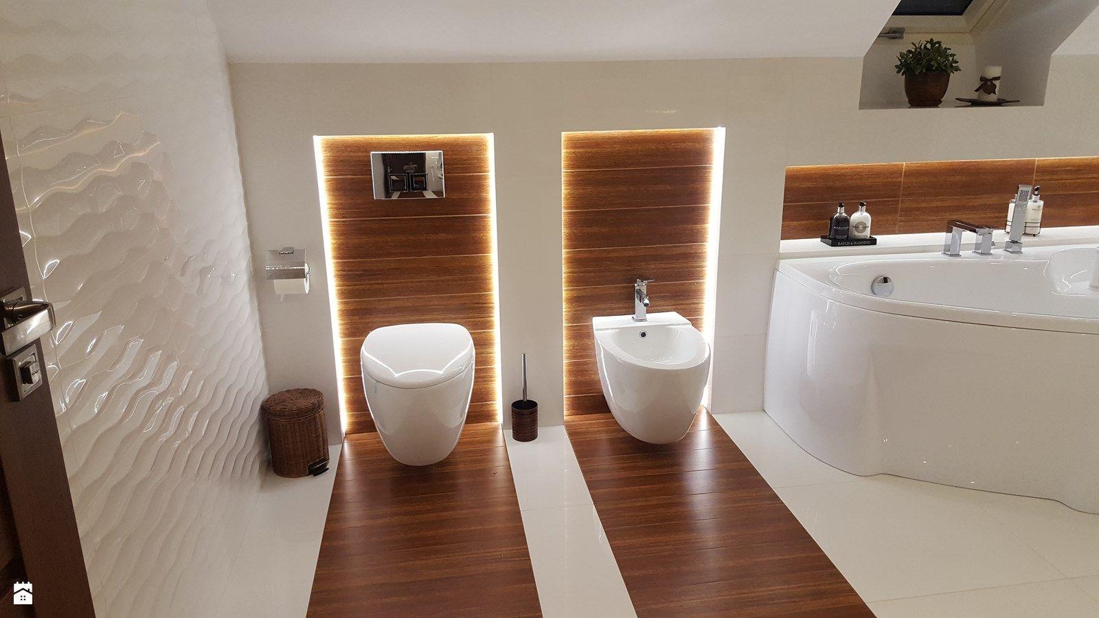 Łazienka na poddaszu w domu jednorodzinnym - zdjęcie od I ...