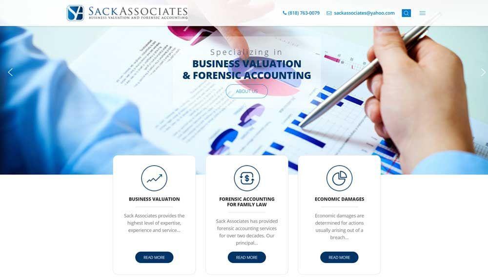 Seeking Help With Your Joomla Website Check Out Our Latest Custom Creation Http Sackassociates Com Joomla Webdesign Web Design Business Valuation Joomla