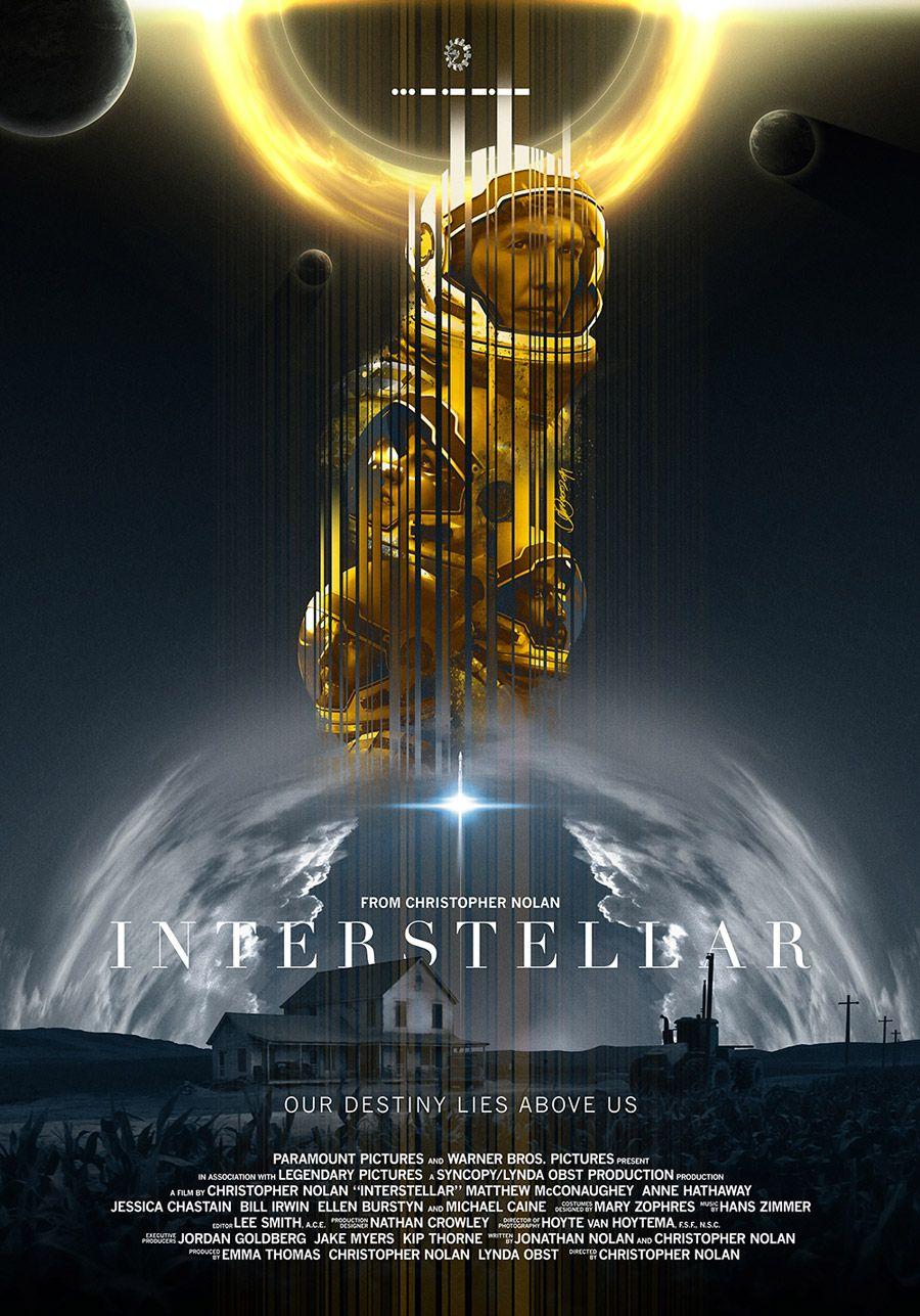 Digital Art Inspiration Interstellar Movie And Films - Beautifully designed interstellar posters james fletcher