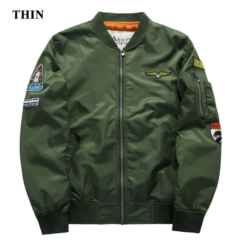 Fashion Style M-3xl Brand Men Aeronautica Militare Air Force One Shirt Men Long Sleeve Casual Embroidery Logo Patch Plane Pilot Shirt Shirts