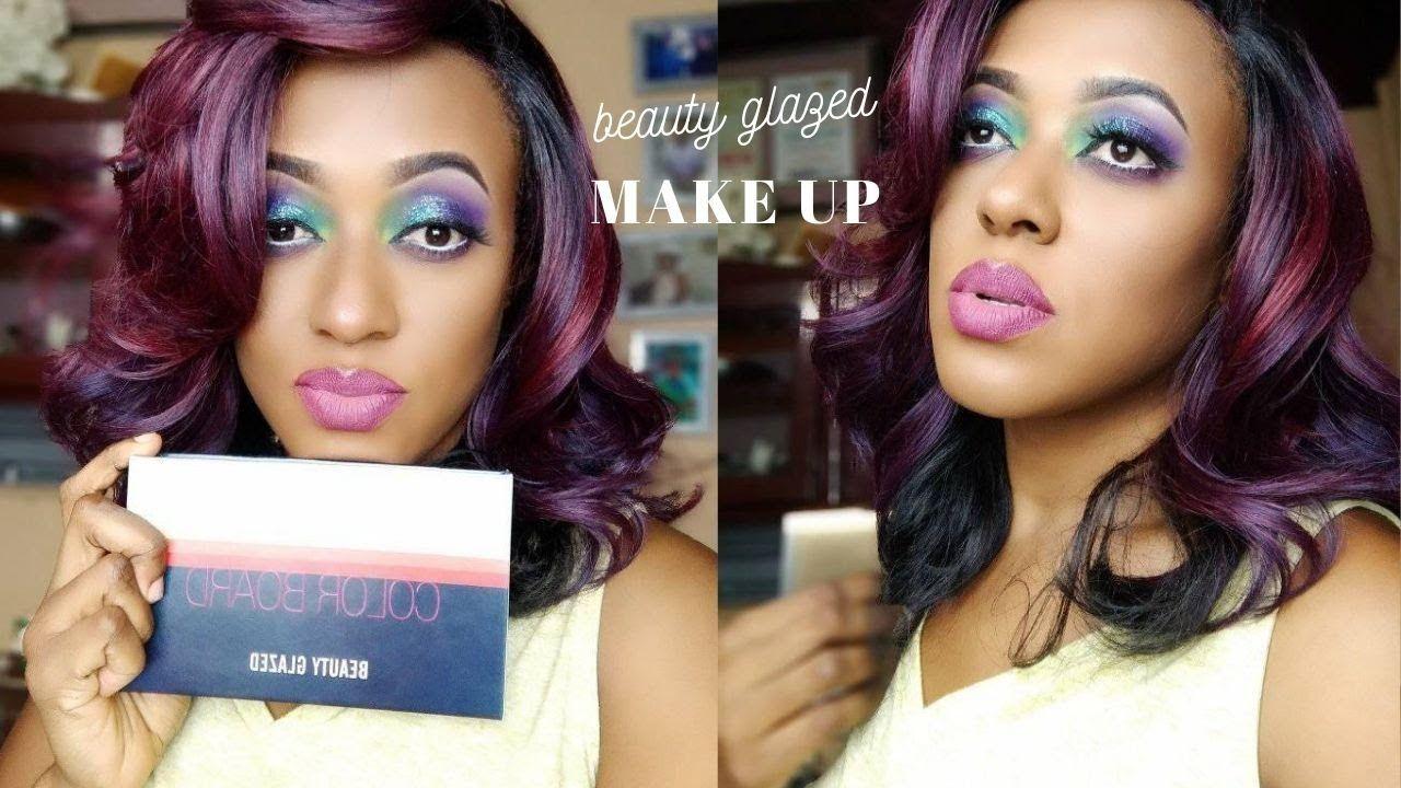 Beauty Glazed Colour Board Palette 60 Colours Review Demo Amazon M Beauty Glazed Beauty Makeup Palette