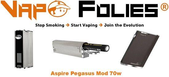 #Pegasus #Box 70 watts d'#Aspire – 50.62€