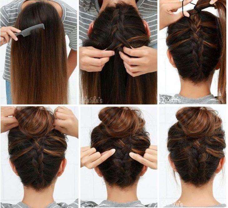 16 Sencillos Peinados Que Te Daran Un Look Chic En Menos De 10