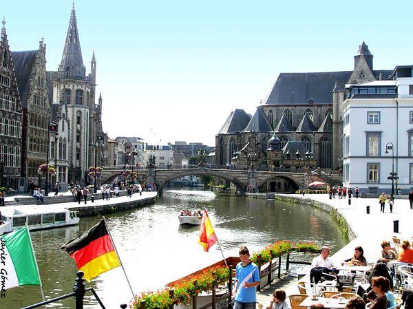 Que Ver En Gante Gante Belgica Fotos