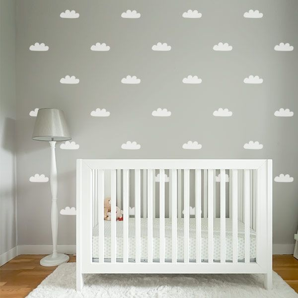 Cloud Wall Stickers For Nursery