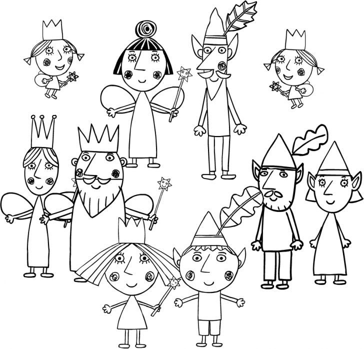 Coloring Pages Ideas Ben And Holly Colouring Pages Ben And Holly Coloring Home Ben And Holly Coloring Pages Free Printable Coloring Pages