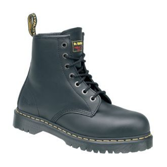 Dr Martens Icon Black Leather Lace Safety Boot Most Comfortable