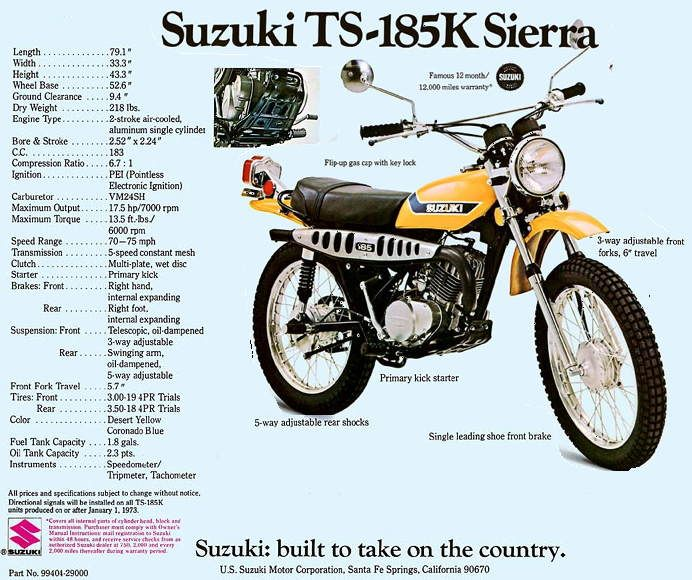 suzuki ts-185 | transportation | pinterest | moto bike, hot bikes